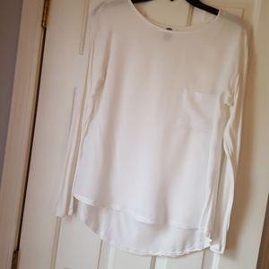 Old Navy white blouse.